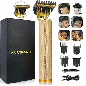 Barber-Electric-Beard-Trimmer-Cordless-Hair-Trimmer-Clipper-T-Blade-Outliner-Cut
