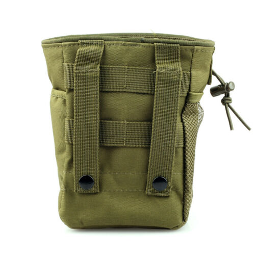 1 x Small Molle Tactical DUMP Drop Pouch Utility Gun Ammo Pouch for Duty Belt