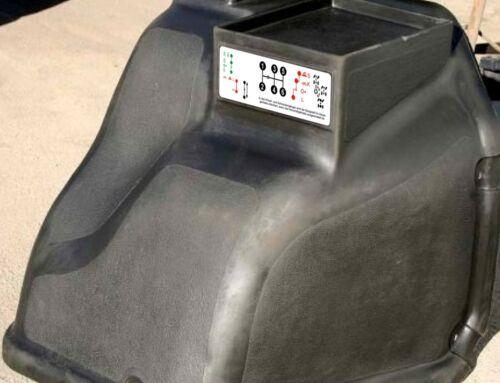 Aufkleber Schaltschema Unimog  403-406-416 Vorschaltgetriebe Drehhebel Lang