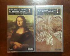 Lot of 2 NEW! BBC HISTORIA de la PINTURA VHS VIDEOS in SEALED Condition!