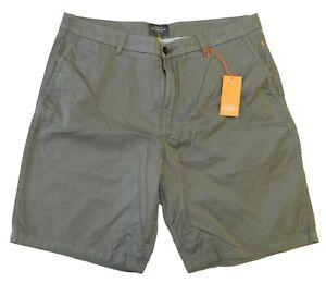 Quiksilver-Men-039-s-Waterman-Secret-Seas-Chino-Shorts-Olive-Military-Green-Size-36