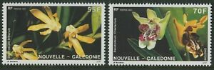 NEW-CALEDONIA-ORCHIDS-1991-MNH-SET-OF-TWO-G21-PB