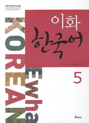 Ewha Korean 5 Korean Language Book With mp3CD English Version Free Ship