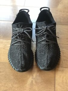 70c3a5d682001 Yeezy Boost 350  Pirate Black  2016. Size 11 Men s  Pre Owned Good ...