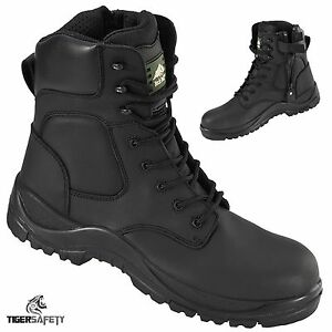 Rock-Fall-Melanite-RF333-Waterproof-Wide-Fit-Zip-Up-Non-Metallic-Safety-Boots