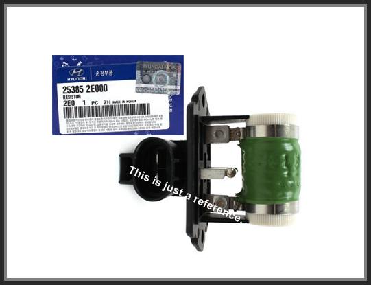genuine engine radiator cooling fan resistor oem for kia 253852e000 Adjustable Radiator Fan Control Wiring Diagram oem genuine cooling fan resistor 253852e000 for kia sportage (2005~2014)