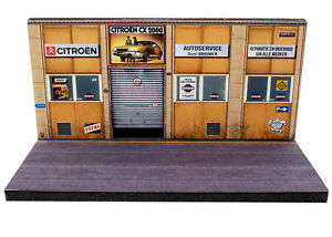 Diorama-presentoir-Citroen-Nederland-1-87eme-HO-HO-2-O-O-003