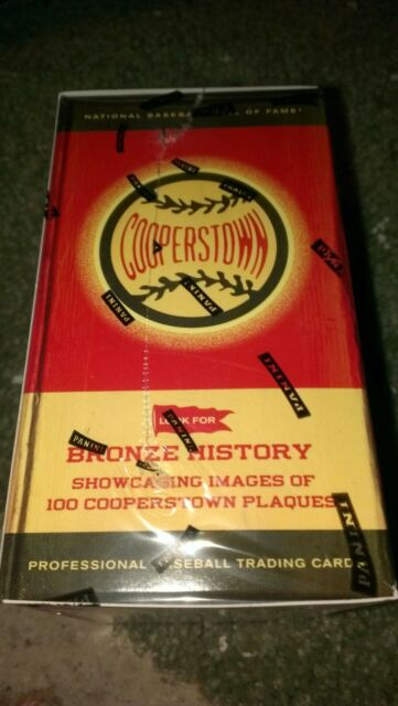 2012 PANINI COOPERSTOWN BASEBALL CARD BOX-POSSIBLE AUTOS AND INSERTS