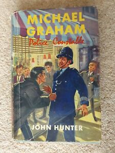 Michael-Graham-Police-Constable-1962-First-Edition-1st-Ed-with-Dust-Jacket