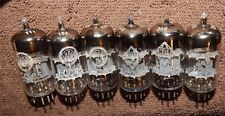 6 PIECES AUDIOPHILE TUBES TELEFUNKEN    ECC85 / 6AQ8 VALVO GERMANY MADE PREMIUM