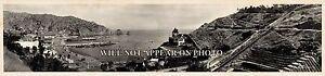 1914-Avalon-Bay-Santa-Catalina-Island-CA-Vintage-Panoramic-Photo-25-034-Long