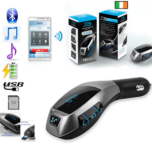Wireless-Bluetooth-Car-MP3-Player-FM-Transmitter-Radio-LCD-SD-USB-Charger-Kit