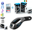 Wireless-Bluetooth-Car-MP3-Player-FM-Transmitter-Radio-LCD-SD-USB-Charger-Kit thumbnail 1