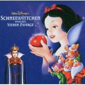 SCHNEEWITTCHEN-UND-DIE-SIEBEN-ZWERGE-CD-ORIGINAL-SOUNDTRACK-FILMMUSIK-NEU