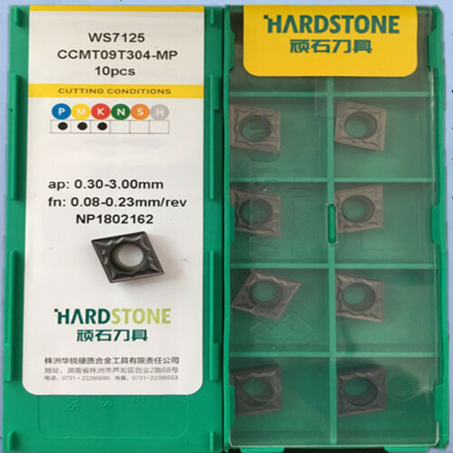 CCMT09T304-MP CCMT32.51 for Stainless Steel Carbide Inserts 10pcs Free shipping