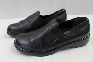 naturalizer womens casual slipon shoes size 7 wide black