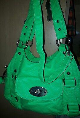 Handtasche Leuchtendes Grün