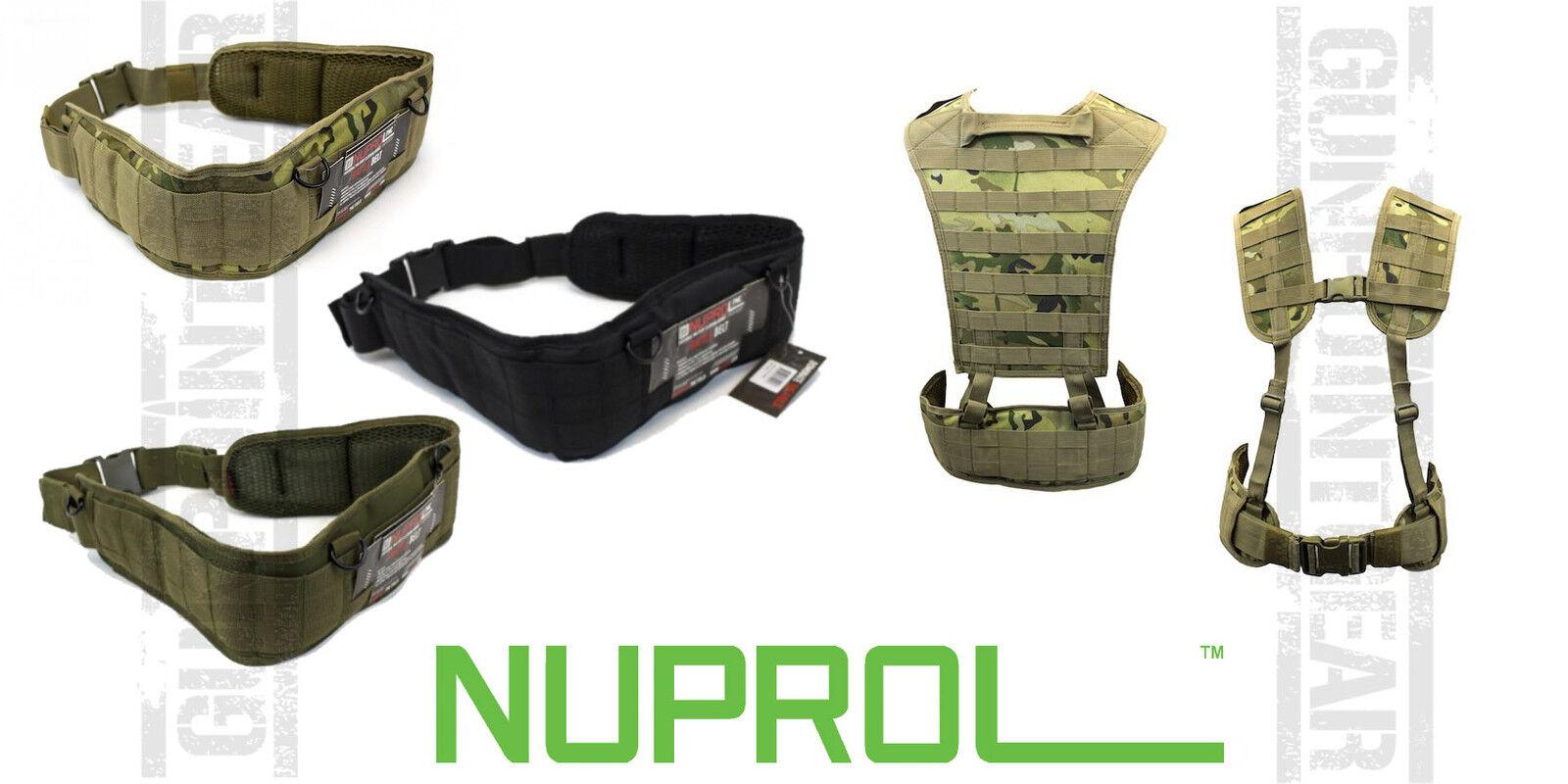 Nuprol battle Belt Full Molle Full Webbing MILSIM AIRSOUFT Free UK Delivery