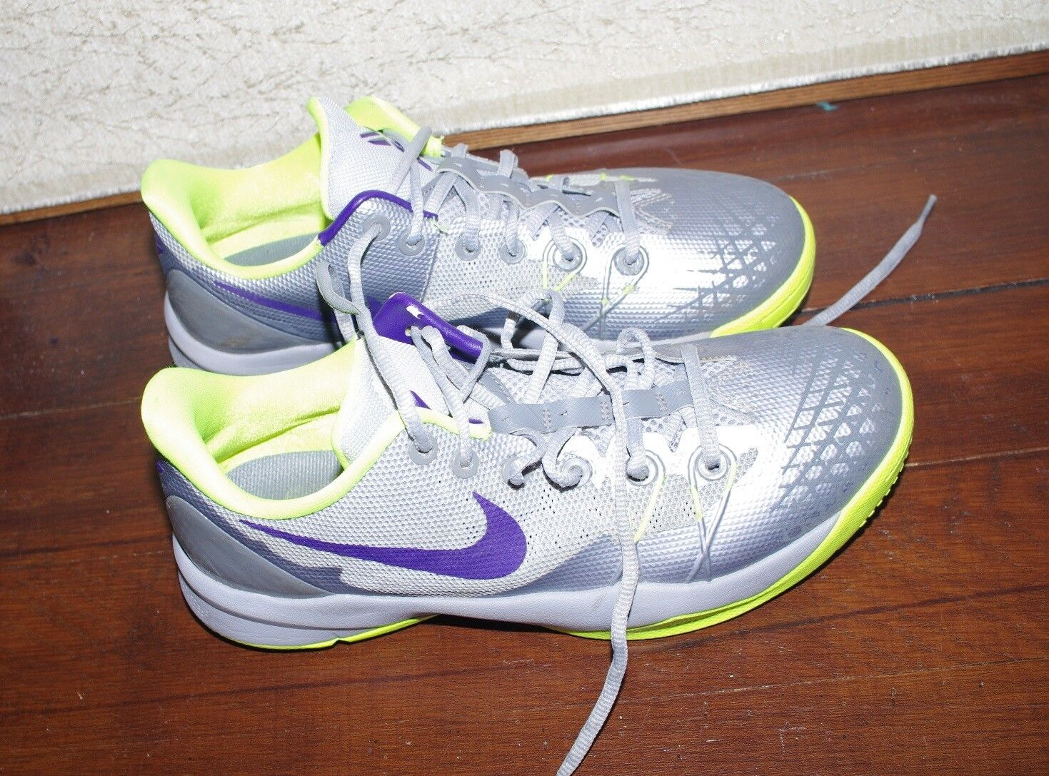 Nike Blade Traction 24 Zoom Gray Yellow Snickers Men's  size :37,5