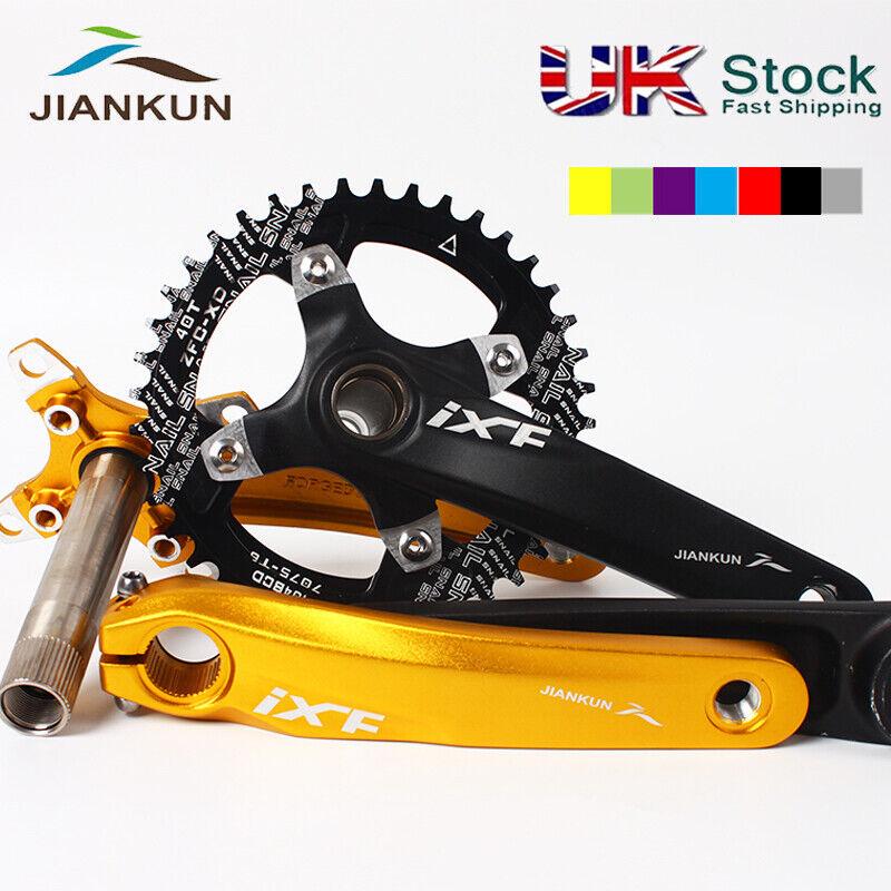 30-42t 104BCD 170mm Chainset MTB Fahrrad Crank Narrow Wide Chainring Chainwheel CNC