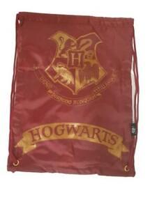 Kids Harry Potter Drawstring Trainer Bag Hogwarts Backpack School PE Kit Bag