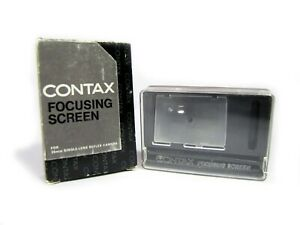Contax Rts Split Image Focusing Screen New Old Stock Nos Ebay
