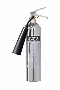NEW-2KG-CO2-FIRE-EXTINGUISHER-CHROME