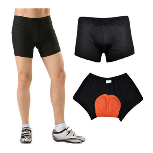 Padded Cycling Underwear Bicycle Shorts Bike  Unisex  Pants Gel Sport Short US