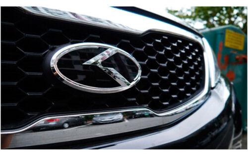 K Evolution Emblem Front Rear Horn Wheel Cap CHOICE Size for Hyundai Kia Vehicle
