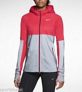 NIKE SHIELD FLASH WOMEN S RUNNING JACKET FLASH  REFLECTIVE 619026 ... 6623827a196b