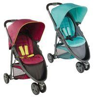 Graco Evo Mini Lightweight 3 Wheel Stroller/pushchair - From Birth To 15kg