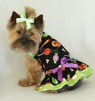 Xxxs Halloween Candy Dog Dress Clothes Teacup Pet Apparel Pc Dog®