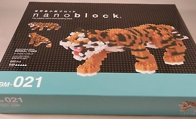 Kawada Nanoblock BENGAL TIGER Deluxe Edition - japan building toy NBM-021 |  eBay