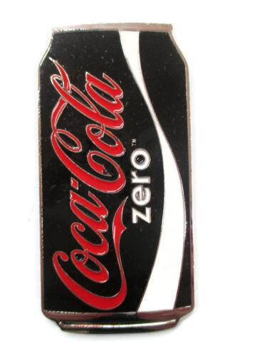 Coca-Cola Sparkle Magnet Glitter Enamel Black Coca-Cola Zero Sugar BRAND NEW