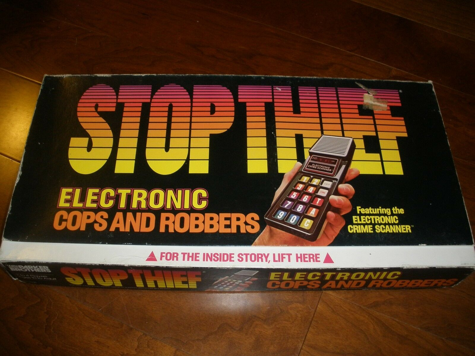 Vtg Stop Thief Electronic Cops and Robbers Game Complete 1979 Parker Bredhers