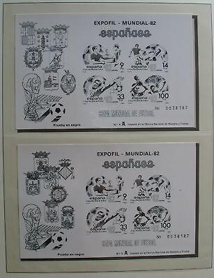 Copa Mundial Espana 1982 Weitere Rabatte üBerraschungen Spanien Prueba En Negro Sd Bl 25/26 Fußball Wm 2019 Neuestes Design S495