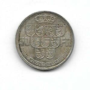 Belgium-1940-50-francs-POS-B-silver-VF