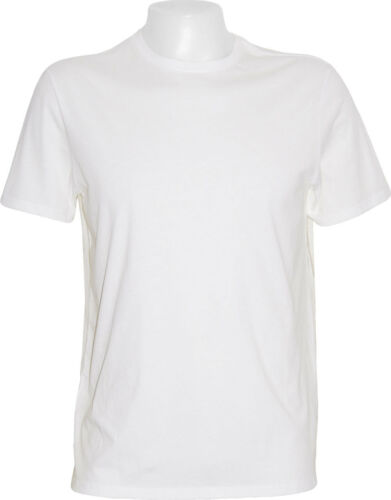 6 Pack Of Men/'s Imported Premium  Short Sleeve Classic White Crew Neck T-Shirts
