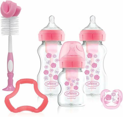 Dr Brown/'s Options 2019 Design Gift Set Pink