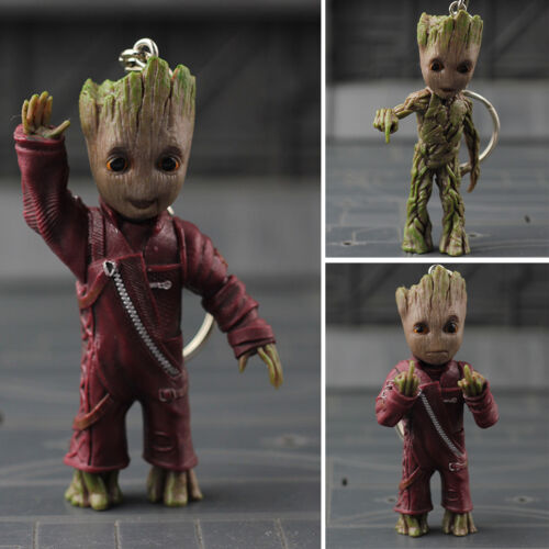 Guardians of the Galaxy Figur IB PVC Figure Vol.2 Baby Groot Wave Key Chain Hand