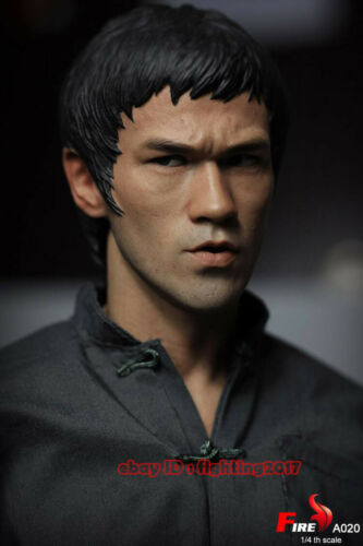 In Stock FIRE A020 Way of the Dragon Bruce Lee 1:4 Double-Headed Action Figure