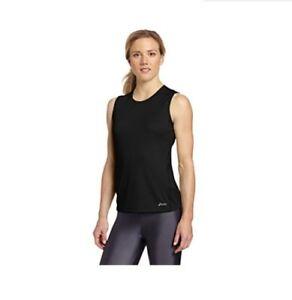 Asics-Women-039-s-Core-Tank-Top-Athletic-Shirt-WR1630-Black-Size-XS