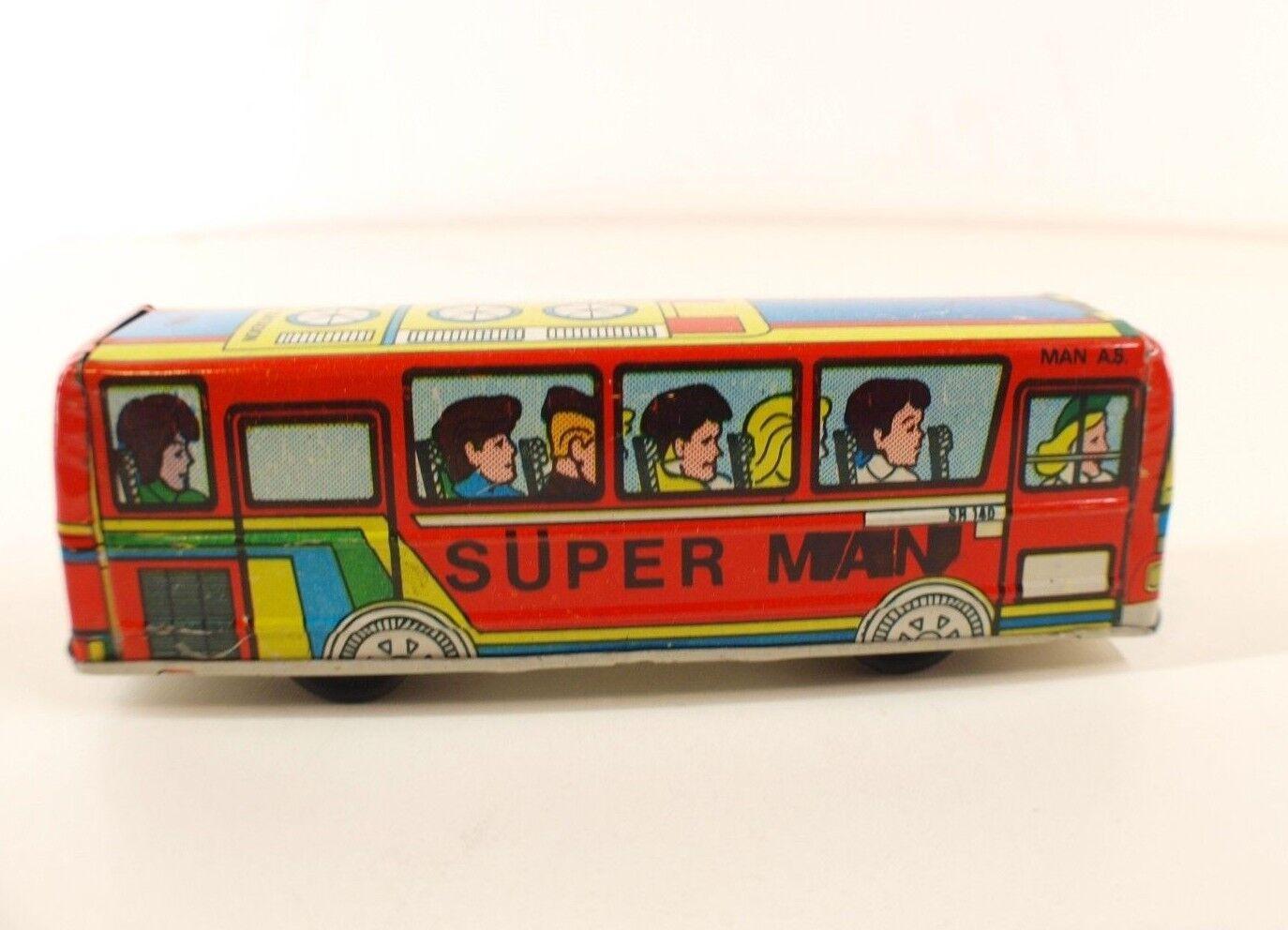 Gürel Turkmali Turquie bus autobus autobus autobus Mercedes SR140 Super Femme tôle Rare 15 cm e44952