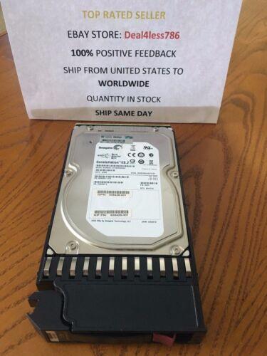 HP P2000 3TB 6G SAS 7.2K LFF HARD DRIVE QK703A//656102-001//658428-001//658429-001