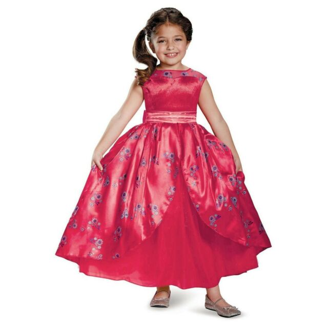 Deluxe Elena of Avalor Adventure Dress Child Costume Size XS 3T-4T NEW