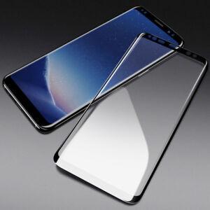 Full Display Schutz Glas Für Samsung Galaxy S8 Curved 3d Coverd 9h