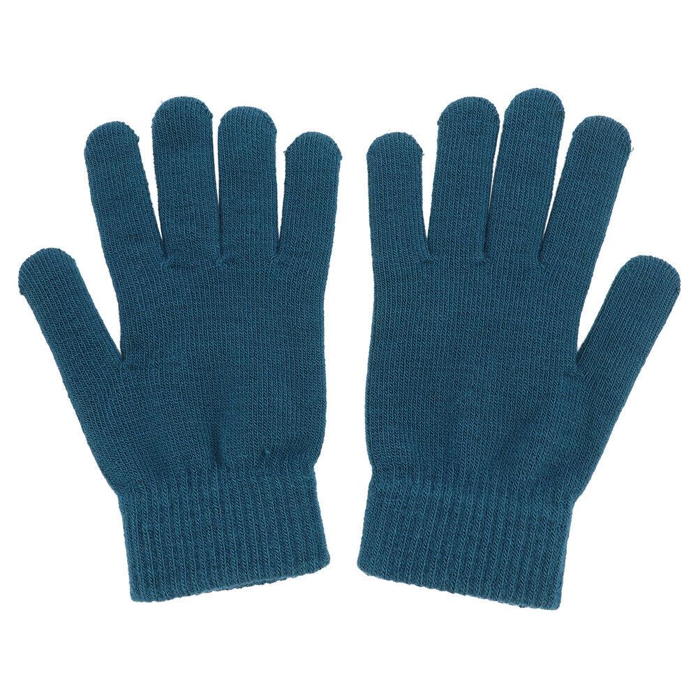 1 Pair Man Thermal Warm Heat Insulator Glove Stretch Knitted Winter Gloves NEW