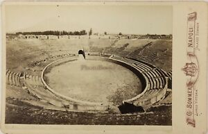 Pompei-Anfiteatro-Italia-Foto-Sommer-PL17c2n22-Armadio-Vintage-Albumina