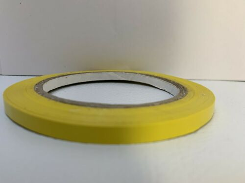 12 OSHA COLORS AVAILABLE: 1//4 INCH x 108 Ft 5MIL Vinyl Pinstriping Tape 6mm