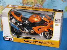 1/12 MAISTO KAWASAKI NINJA ZX-10R MOTORCYCLE DIE-CAST METAL *BRAND NEW & VHTF*